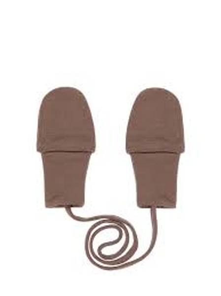 Bilde av NbmWillit wool mittens uten tommel - Iron