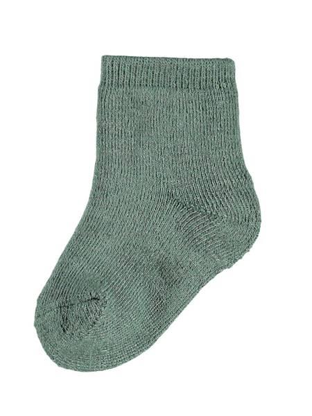 Bilde av NbmWaksi wool terry sock - Duck Green