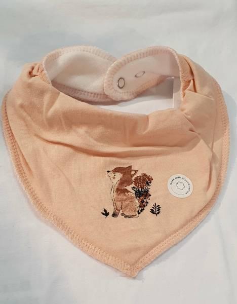 Bilde av NbfYvetteocilie scarf bib - Peach Whip