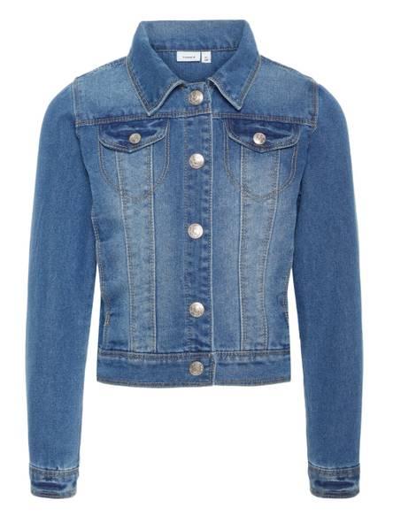 Bilde av NItStar Rika dnm jacket - Medium blue denim