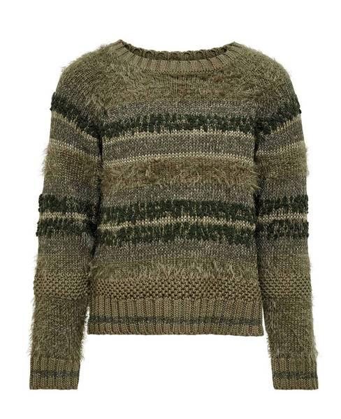 Bilde av KonAdelle l/s pullover knit - Dusky Green