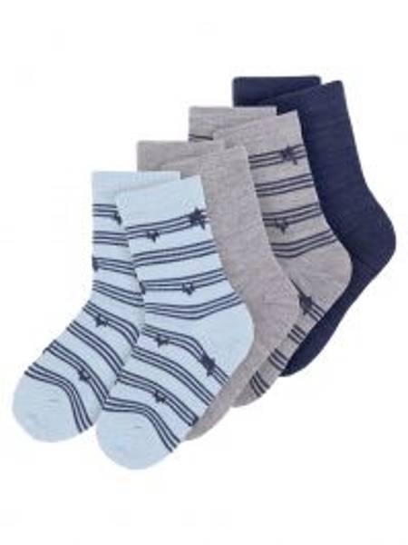 Bilde av NitWak wool 4 pack sock mini - Dress Blues