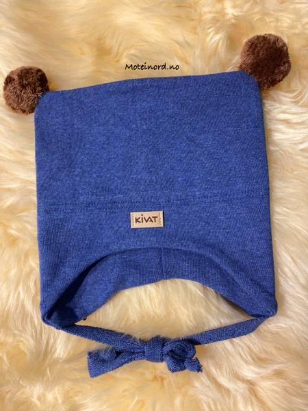 Bilde av Kivat Bomullslue - jeansblå, Kivat merke og 2