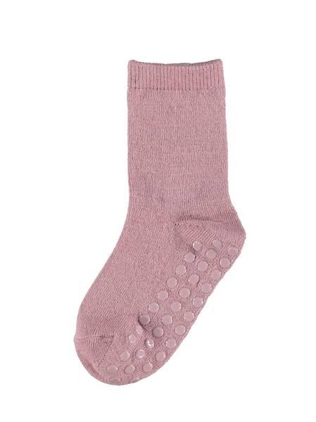 Bilde av NmfWak wool 2 pack antiskli sokk - Nostalgia Rose